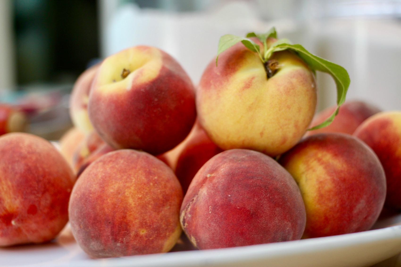 Texas peaches - Baugh Farms