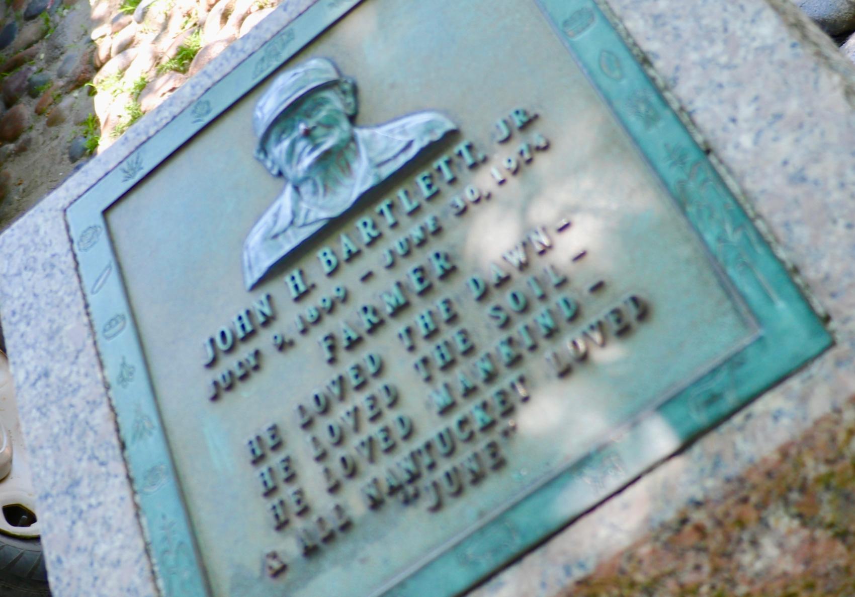 John Bartlett Monument