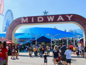 Midway at the State Fair of Texas