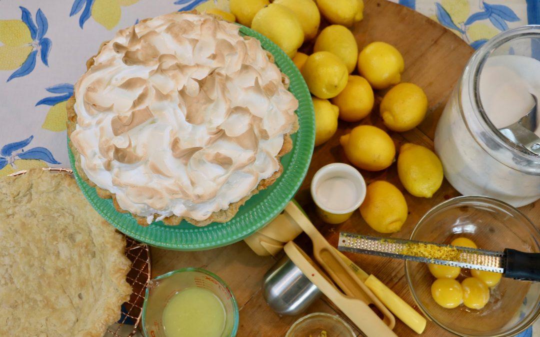 Baking a Lemon Meringue Pie