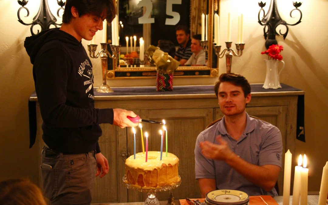 Birthday celebration -25th