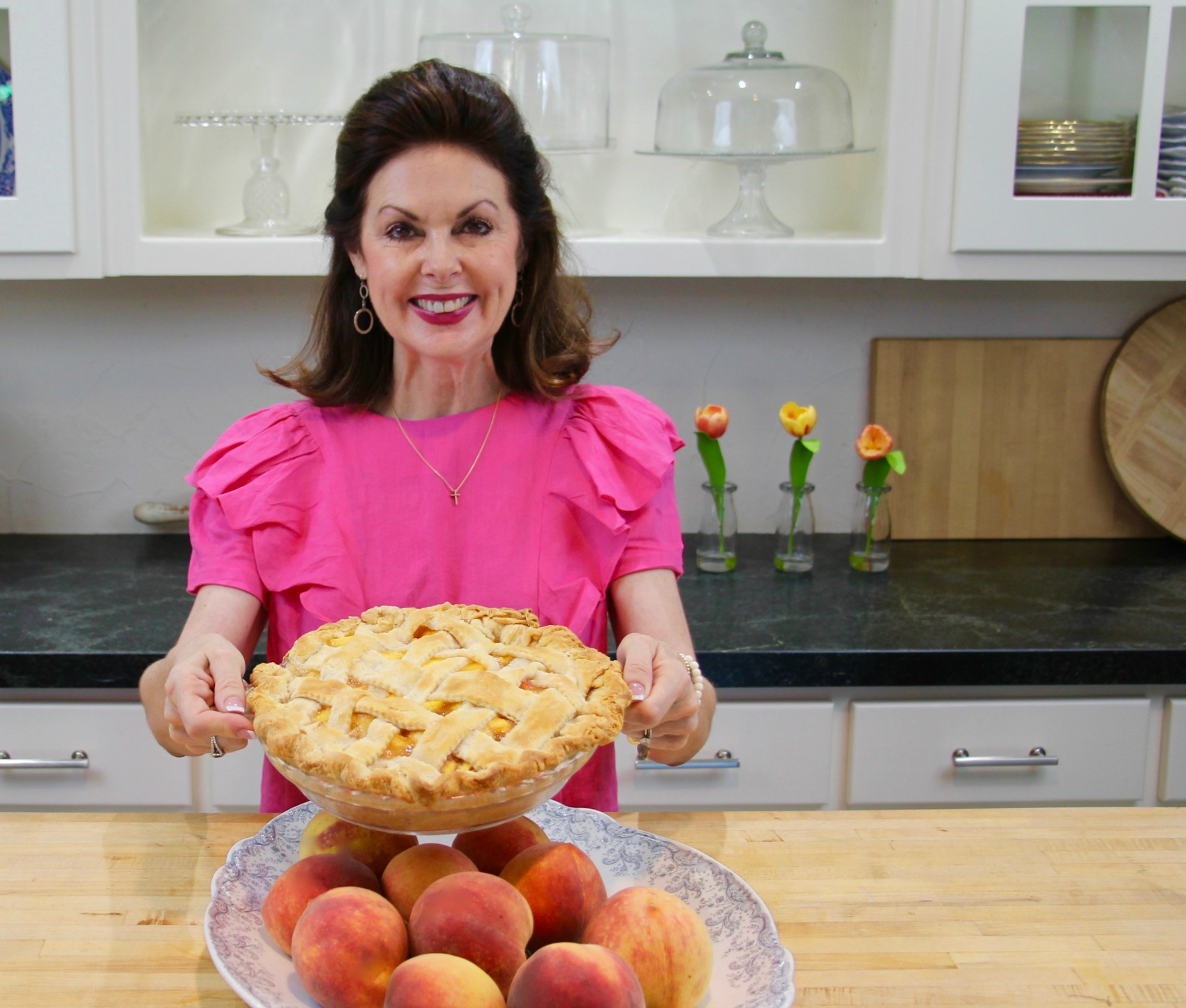 My Texas Kitchen Peach Pie