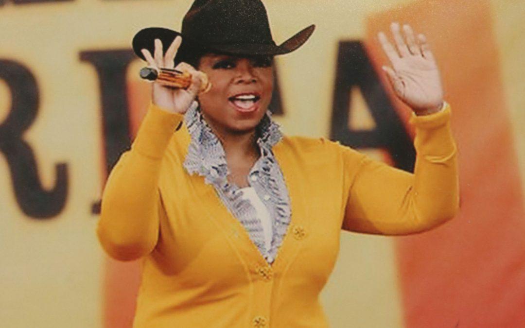 Oprah Visits Dallas