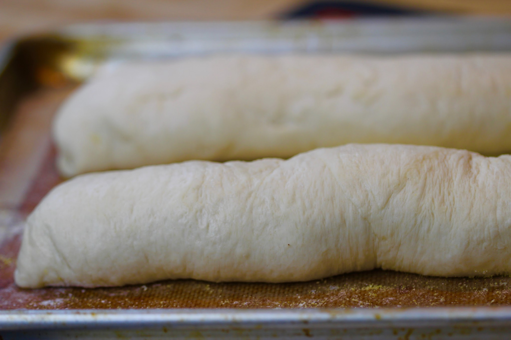 French Bread - second rise