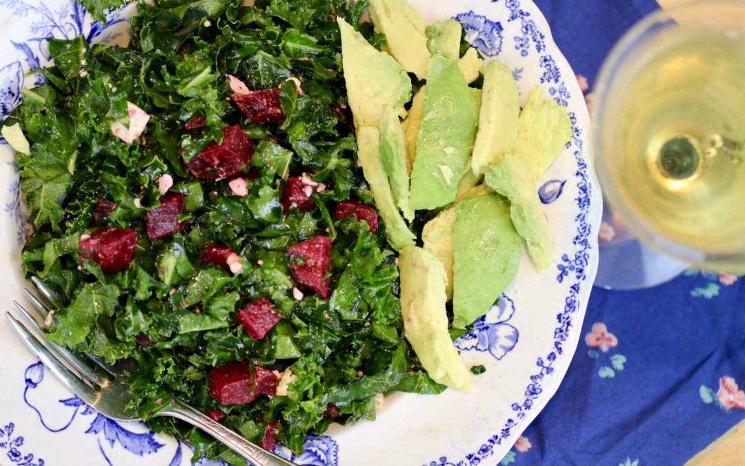 Kale & Roasted Beet Salad