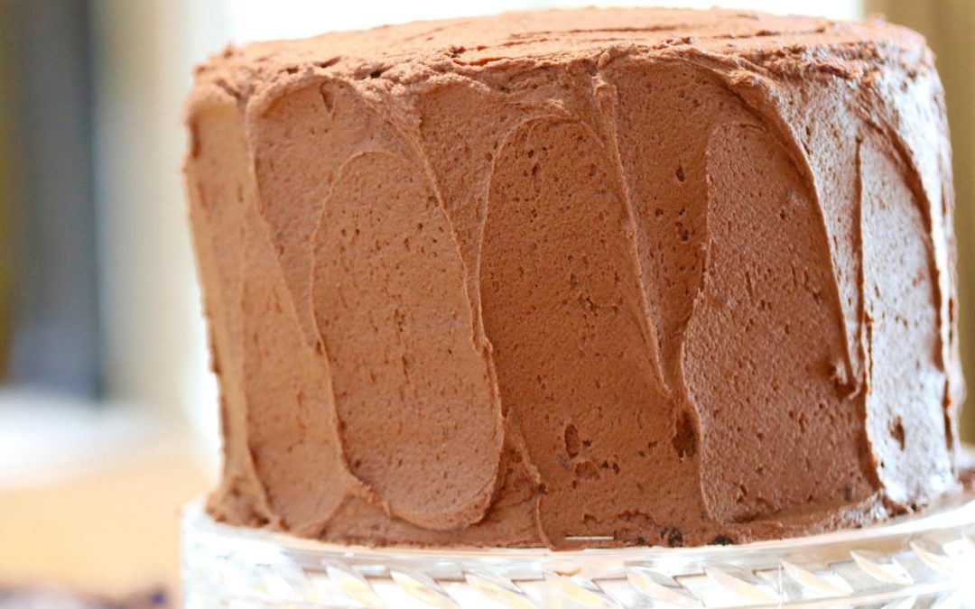 Devil's Food Cake, devilishly delicious chocolate cake