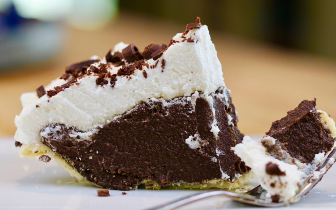 Chocolate Cream Pie, Enjoy A Slice Of Heaven