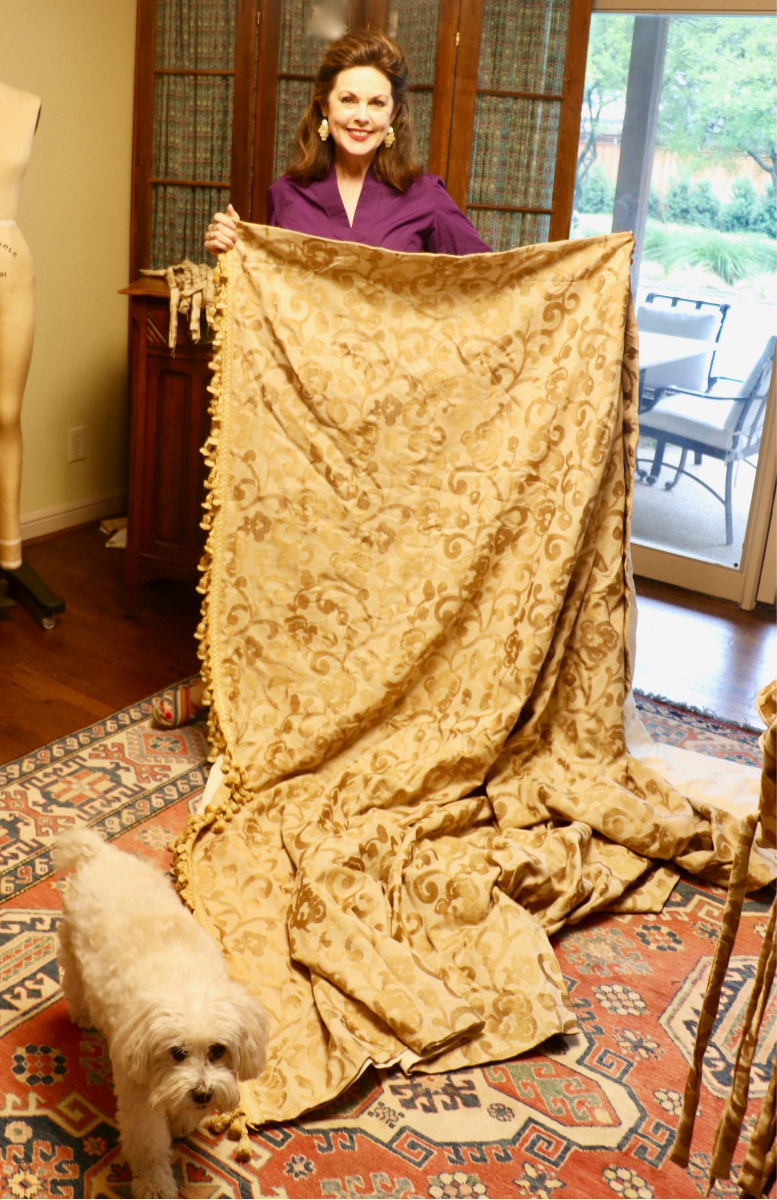 Repurposing drapes