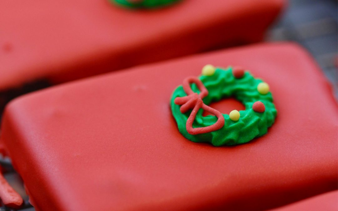 Red Candy Doors For Gingerbread Houses